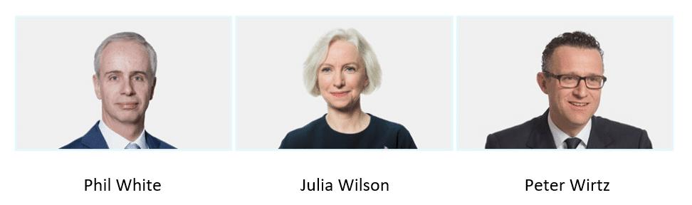 phil white, julia Wilson, Peter Wirtz - 3I