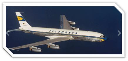 Boeing 707 Lufthansa