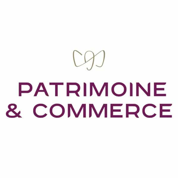 Patrimoine & Commerce - logo