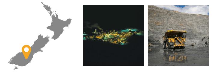 Mines souterraines et à ciel ouvert de Macraes
