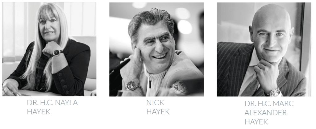 Nayla, Nick, Alexander Hayek