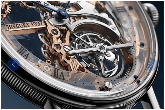 Modèle Breguet Classique Tourbillon Extra-Plat Squelette 5395