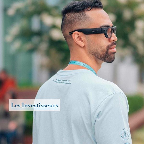 Les lunettes de réalité augmentée de Facebook