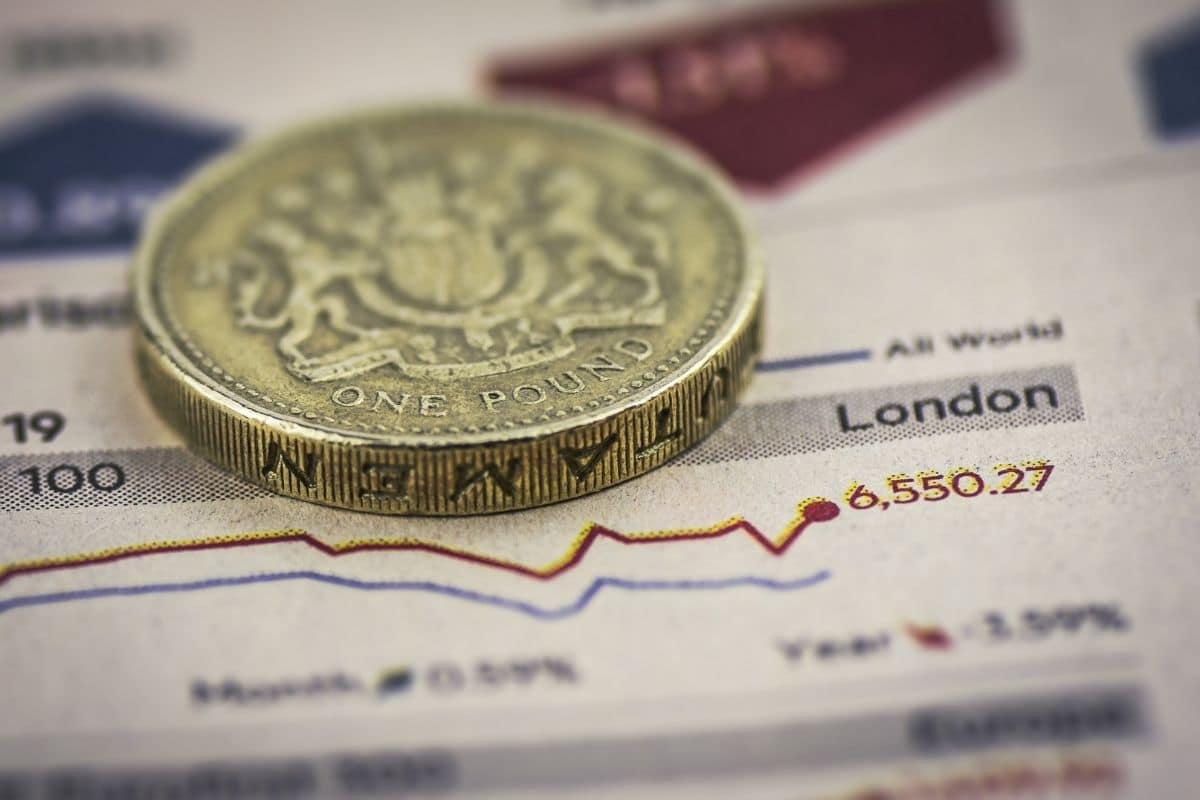 bourse anglaise one pound pièce