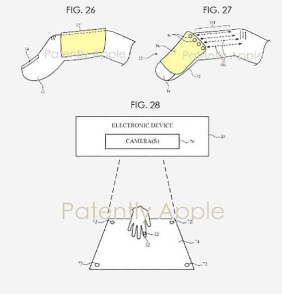 Le brevet d'Apple illustré