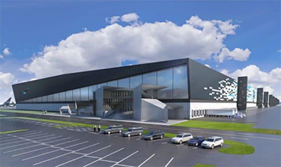 Nouveau hub aérien d'Amazon Air dans le Kentucky