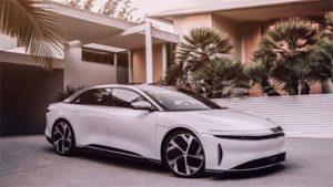 La voiture de Lucid Motors n'est encore qu'un projet