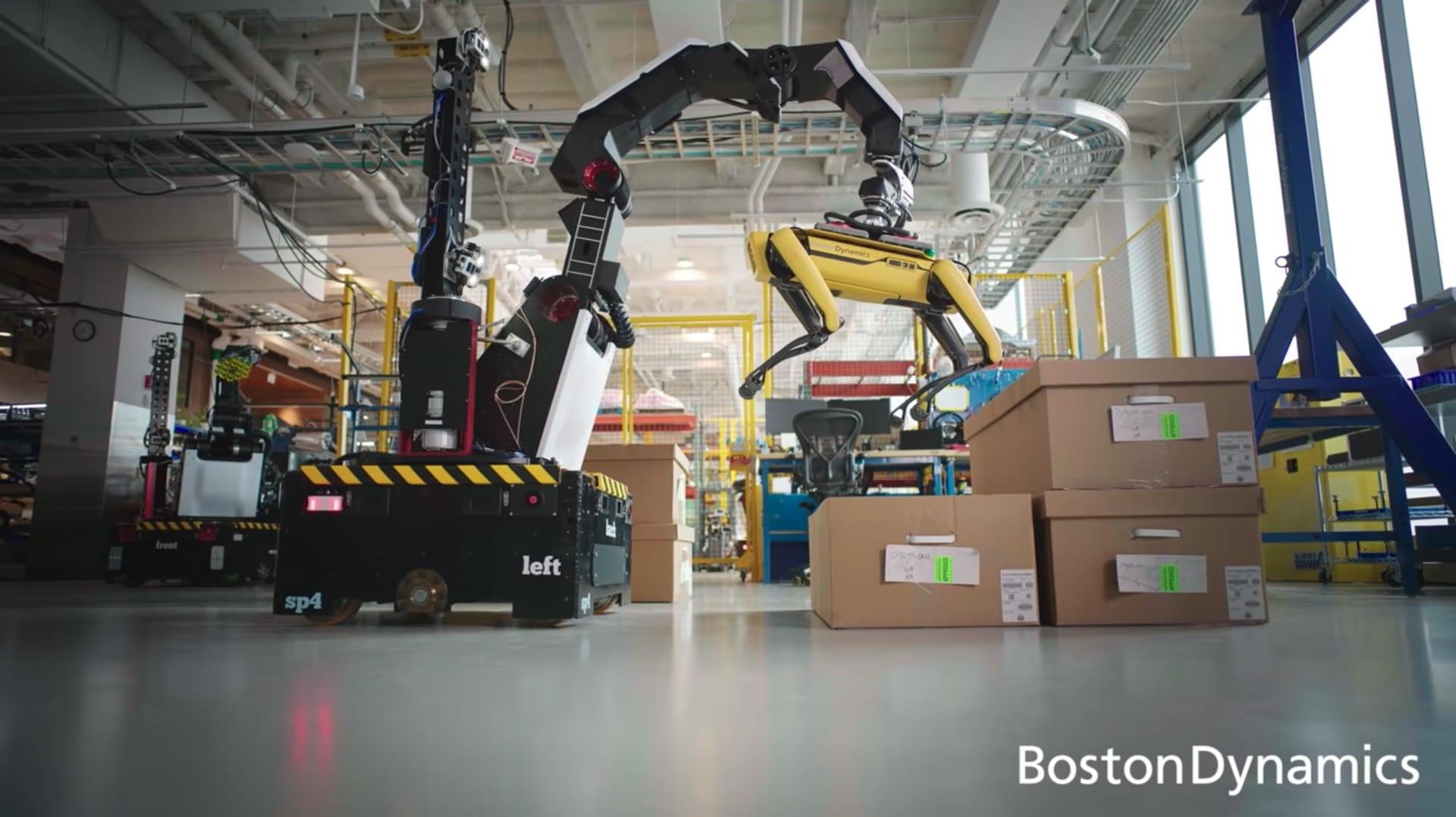 Stretch de Boston Dynamics