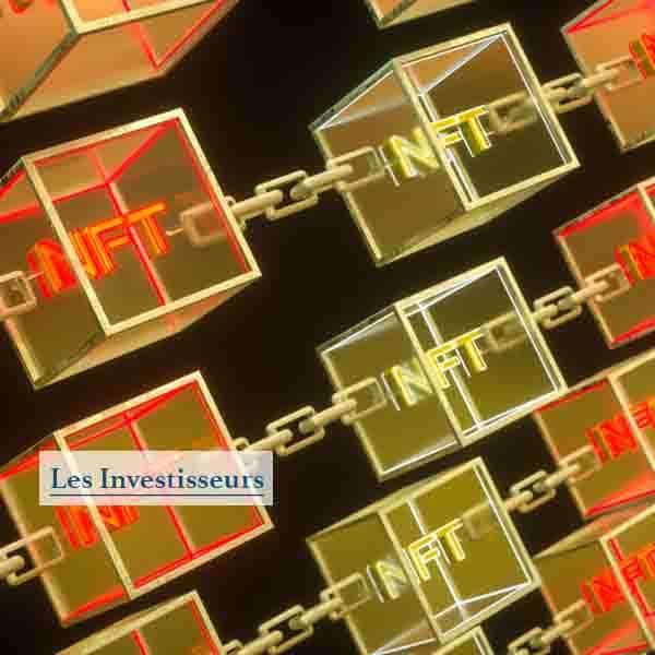 Concept des jetons NFT
