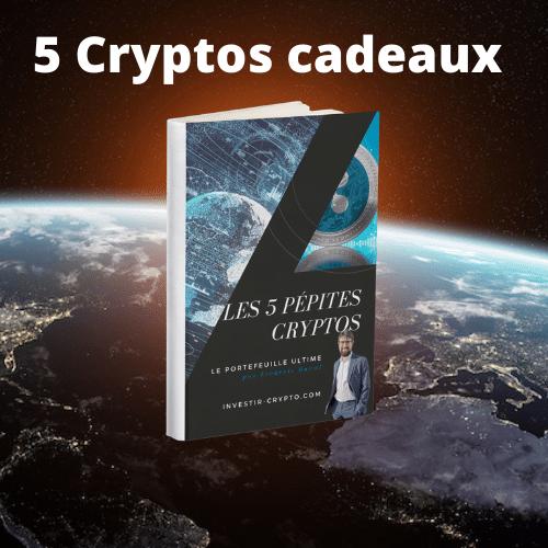 5 Cryptos cadeaux
