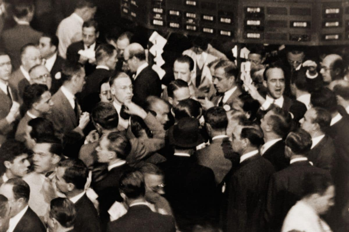 bourse et trading traders wall street