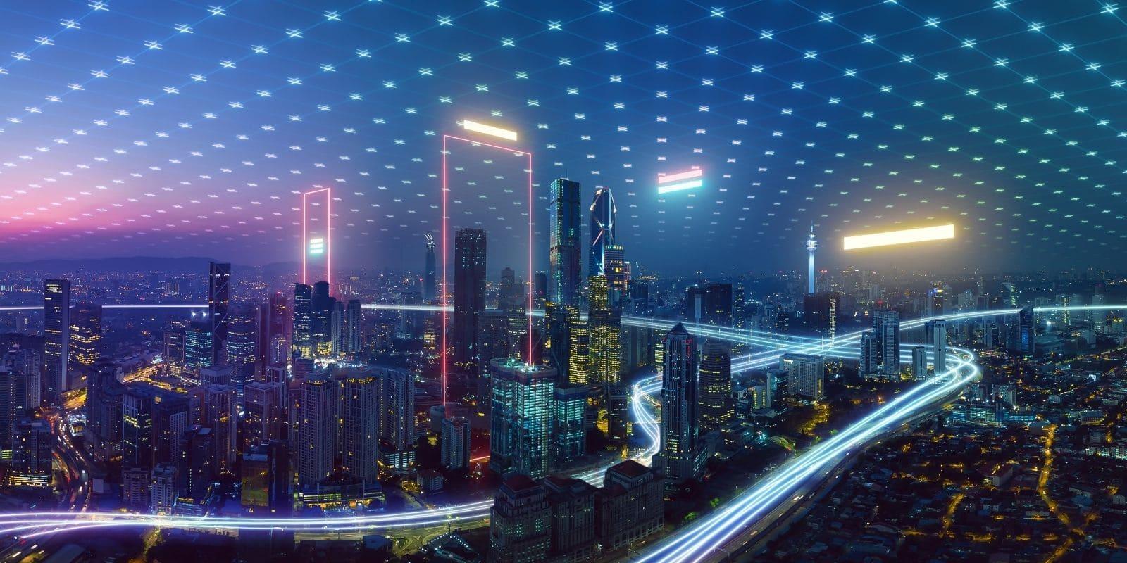 internet nouvelle génération - city view