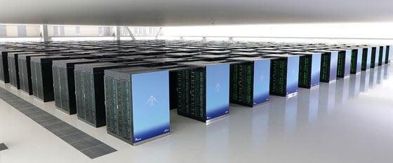 Le superordinateur japonais Fugaku