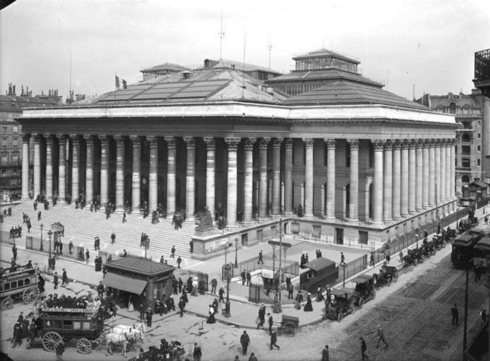 bourse française palais bourse française palais Brongniart époque