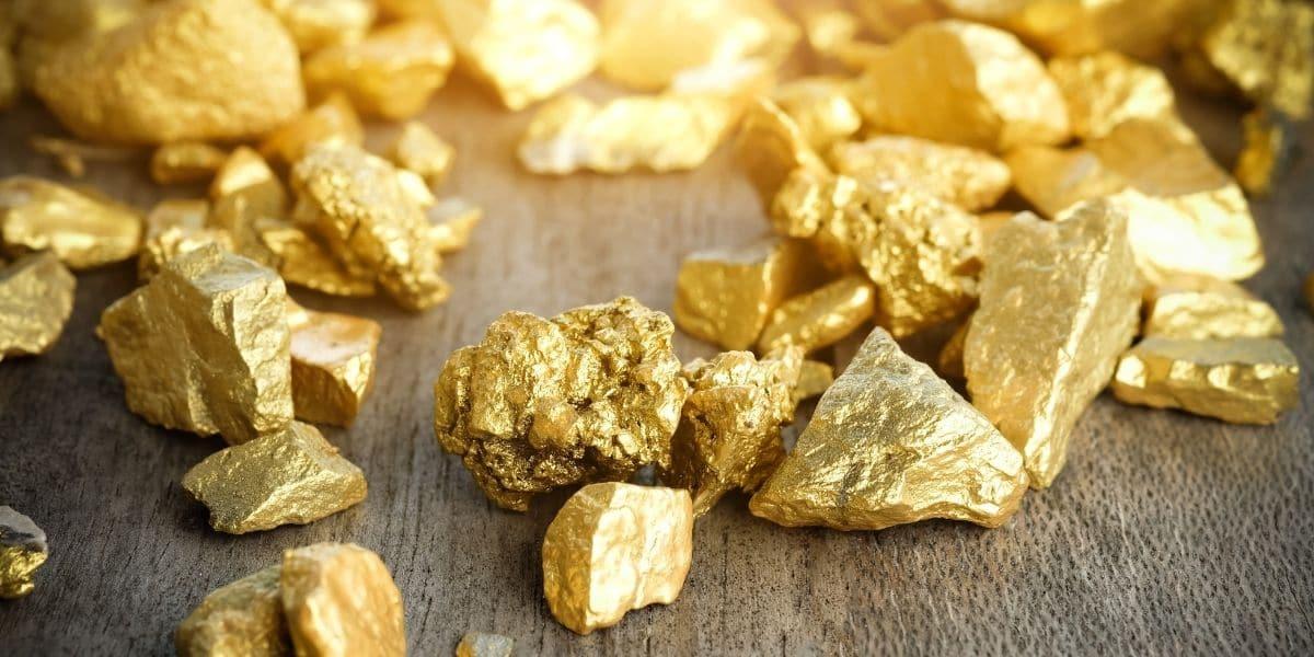 matières premières or