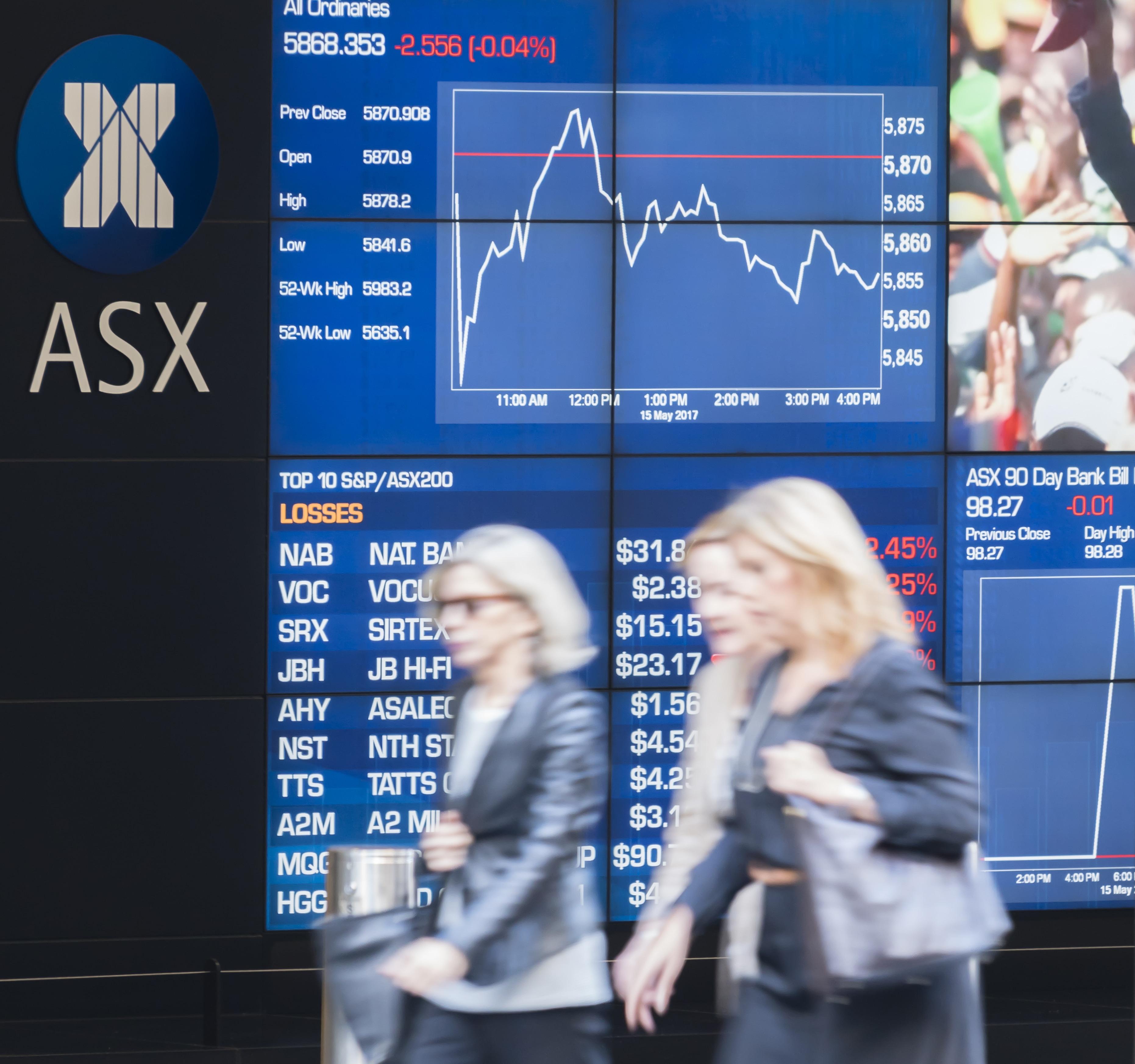 bourse australienne asx