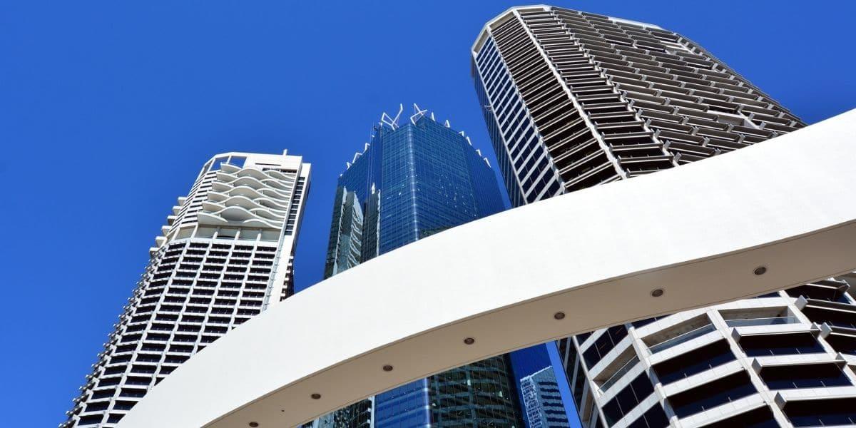 bourse australienne skyline