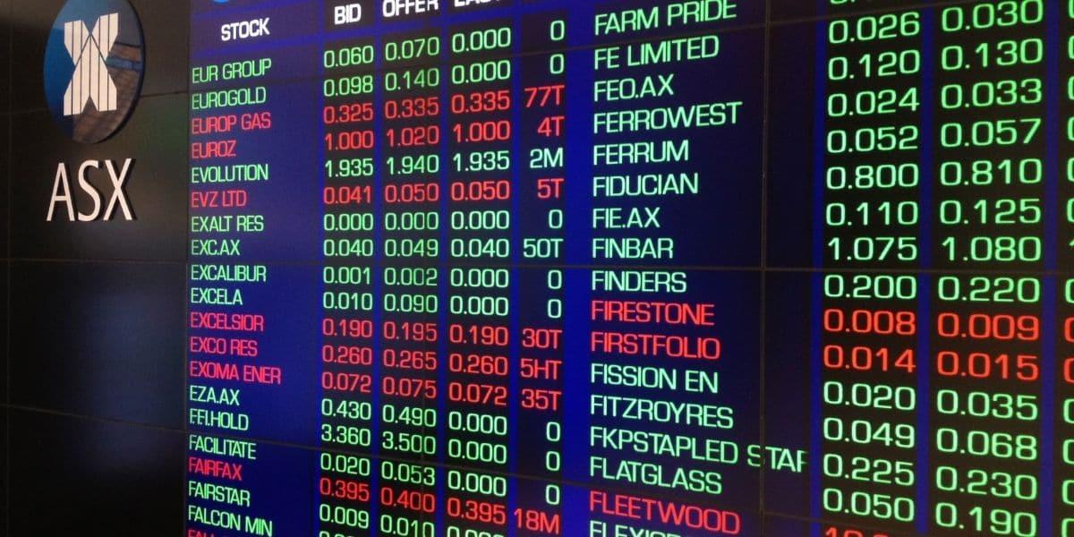 bourse australienne valeurs